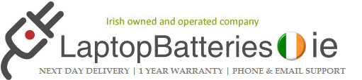 laptopbatteries.ie we sell laptop batteries in Ireland
